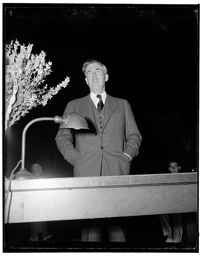 Henry A. Wallace in 1939, as secretary of agriculture under Franklin D. Roosevelt.