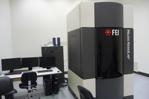The focused ion beam (FIB) microscope, which not only produces enlarged images of materials' structures, but also can sculpt out samples for further study.