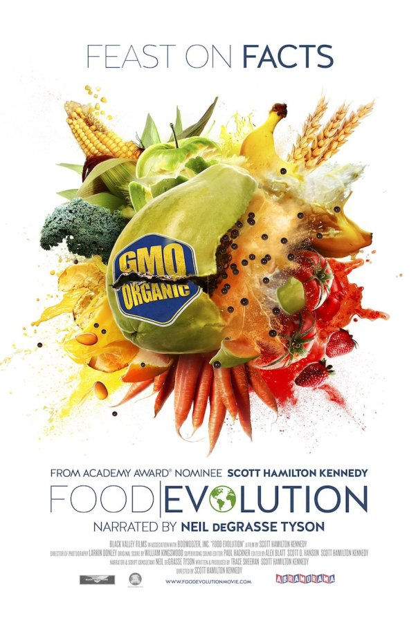 "The ""Food Evolution"" movie poster, courtesy of Black Valley Films."