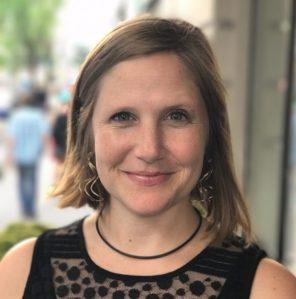 Emily Mendenhall of Georgetown University.